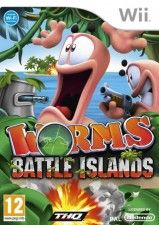 Купить игру Worms (Червячки) Battle Islands (Wii/WiiU) на Nintendo Wii диск