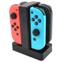 Зарядная станция для 4-х контроллеров Joy-Con (Joy-Con Charge Stand) (SND-385) (Switch)