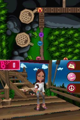 Игра Bratz Girlz Really Rock (DS) для Nintendo DS