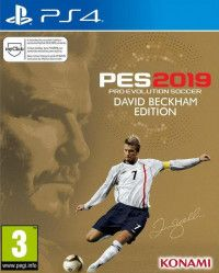 Игра Pro Evolution Soccer 2019 (PES 2019). David Beckham Edition Русская Версия (PS4) Playstation 4