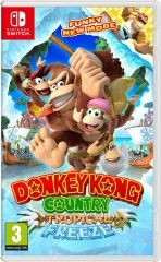 Купить игру Donkey Kong Country: Tropical Freeze (Switch) диск