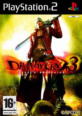 Игра Devil May Cry 3 Dante's Awakening (PS2) для Sony PlayStation 2
