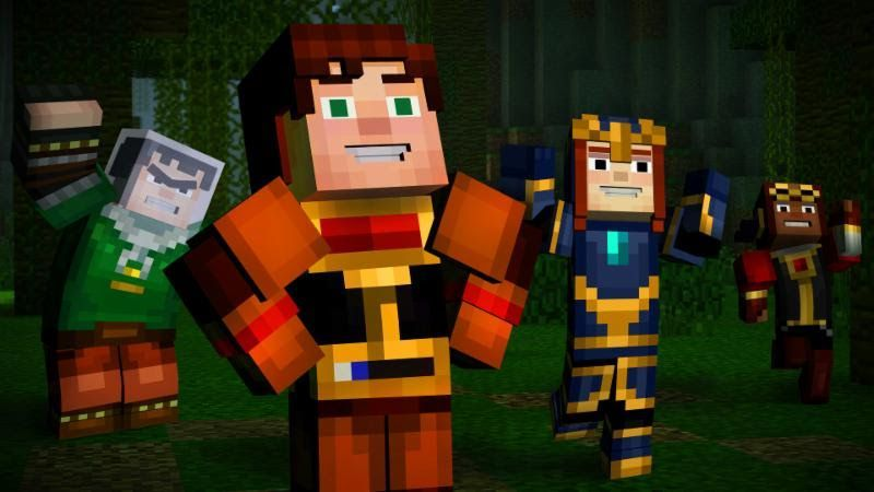 Minecraft: Story Mode Complete Adventure (эпизоды 1-8) Русская Версия (Xbox 360)