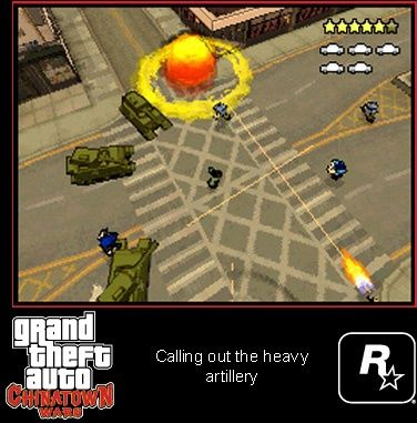 Игра GTA: Grand Theft Auto: China Town Wars (DS) USED Б/У для Nintendo DS