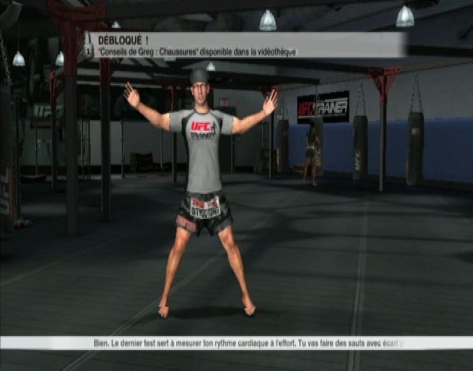 Купить игру UFC Personal Trainer: The Ultimate Fitness System + Ремешок на ногу (Wii/WiiU) на Nintendo Wii диск