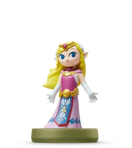 Amiibo: Интерактивная фигурка Зельда (Zelda) (The Wind Waker) (The Legend of Zelda Collection) от Nintendo Switch