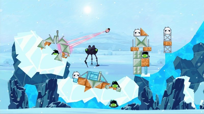 Angry Birds Star Wars с поддержкой PlayStation Move (PS3)
