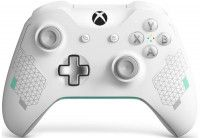 Геймпад беспроводной Microsoft Xbox One S/X Wireless Controller Sport White Special Edition Rev 3 White (Белый) Оригинал (Xbox One) (OEM)