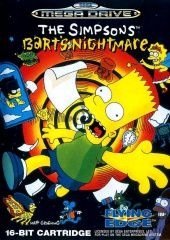 The SIMPSONS Bart's Nightmare (Sega)