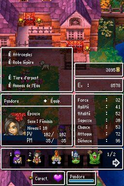 Игра Dragon Quest: Hand of the Heavenly Bride (DS) для Nintendo DS