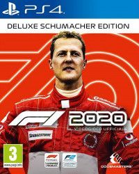 Игра Formula One F1 2020 Делюкс издание Шумахер (Deluxe Schumacher Edition) Русская Версия (PS4) Playstation 4