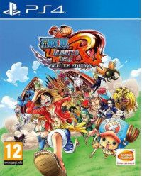 Игра One Piece Unlimited World Red - Deluxe Edition (PS4) Playstation 4
