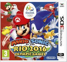 Игра Mario and Sonic at Rio 2016 Olympic games (Nintendo 3DS)