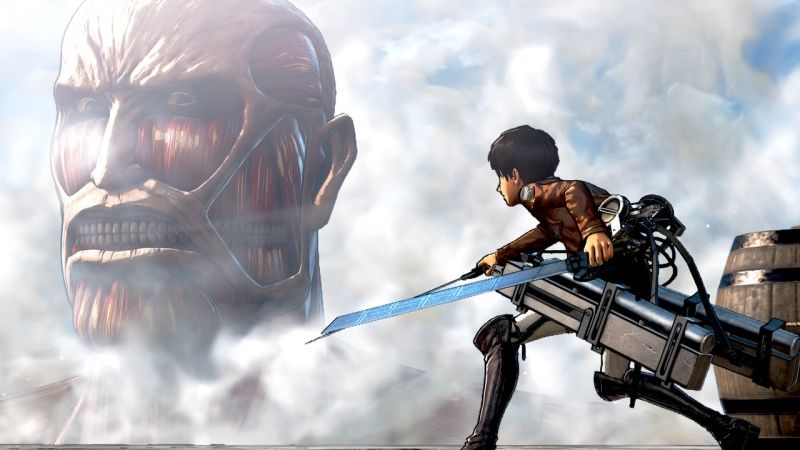 Attack on Titan (A.O.T)(Атака на Титанов) Wings of Freedom (PS4)