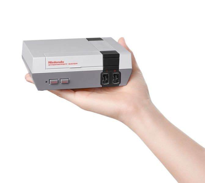 Игровая приставка Nintendo Classic Mini: Nintendo Entertainment System NES + 30 игр для Nintendo Classic Mini