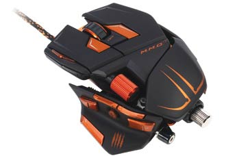 Мышь Mad Catz M.M.O.7 Gaming Mouse Matt Black (PC)