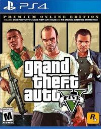 GTA: Grand Theft Auto 5 (V) Premium Online Edition Русская Версия (PS4)