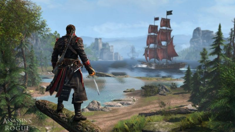 Assassin's Creed 4 (IV): Черный флаг (Black Flag) + Assassin's Creed: Изгой (Rogue) Русская Версия (PS3)