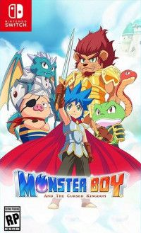Купить игру Monster Boy and the Cursed Kingdom Русская версия (Switch) диск