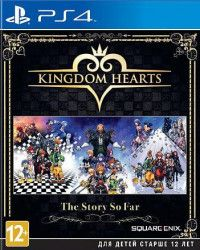 Купить Игру Kingdom Hearts: The Story So Far (PS4) на Playstation 4 диск