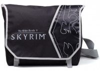 Сумка Difuzed: Skyrim: Logo And Dragon Art Messenger Bag для игровых фанатов