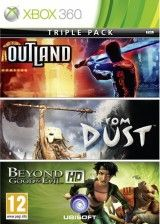 Outland, From Dust и Beyond Good and Evil HD (3 в 1) (Xbox 360)