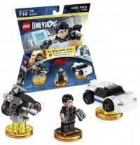 LEGO Dimensions Level Pack Mission Impossible (Ethan Hunt, IMF Sport Car, IMF Scrambler) Фигурки Lego Dimensions