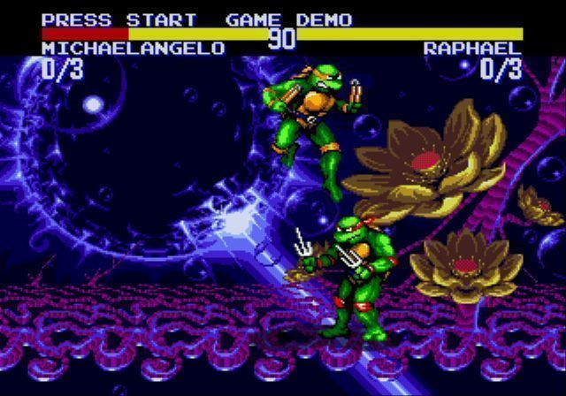 TMNT Teenage Mutant Ninja Turtles (Черепашки Ниндзя): Tournament Fighters (16 bit)