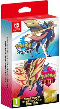 Комплект игр Pokemon: Sword + Pokemon: Shield Dual Pack (Switch)