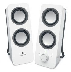 Акустическая система Logitech Multimedia Speakers Z200 Белая PC/Wii U/PS Vita/3DS (PC)