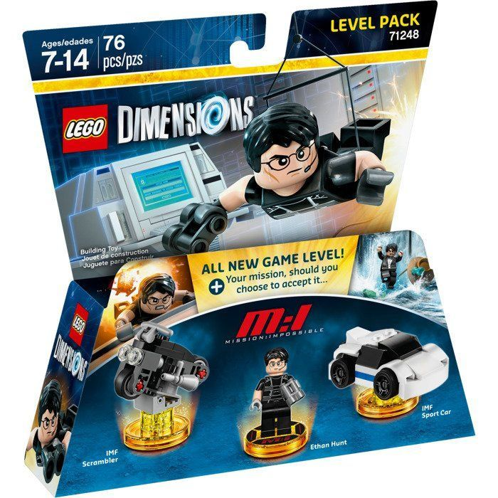 LEGO Dimensions Level Pack Mission Impossible (Ethan Hunt, IMF Sport Car, IMF Scrambler)