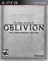 Купить игру The Elder Scrolls 4 (IV): Oblivion 5th Anniversary Edition (PS3) на Playstation 3 диск