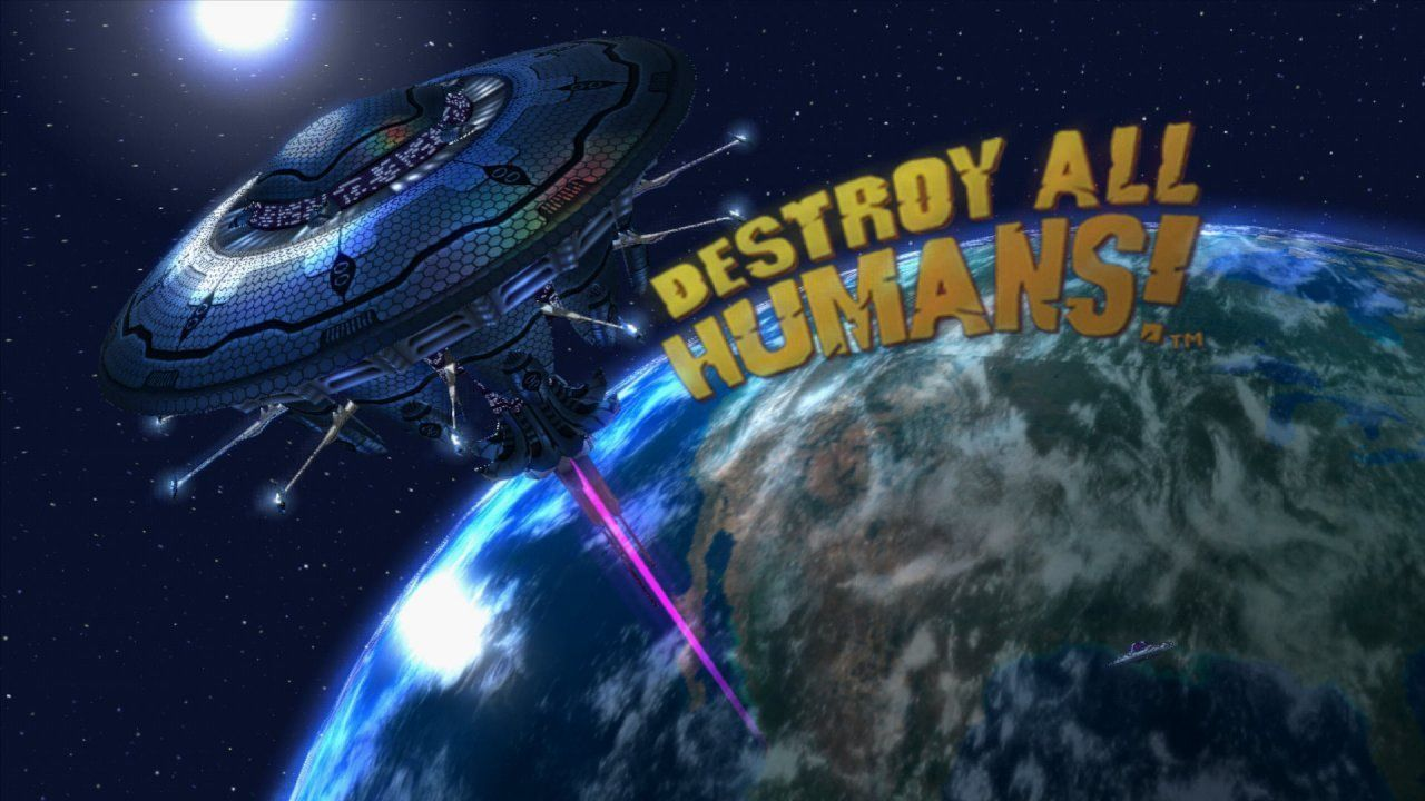 Destroy All Humans! Русская версия (Xbox One)