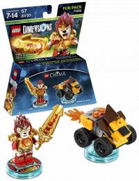 LEGO Dimensions Fun Pack - Lego Legend of Chima (Laval, Mighty Lion Rider) Фигурки Lego Dimensions