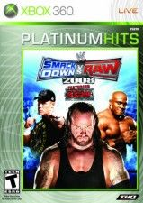 Игра WWE SmackDown vs. RAW 2008 Classics для Xbox 360