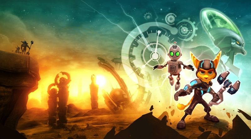 Ratchet And Clank A Crack In Time Коллекционное издание (Collector's Edition) (PS3)