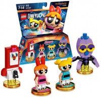 LEGO Dimensions Team Pack The Powerpuff Girls (PPG Smartphone. Blossom, Bubbles, Octi) Фигурки Lego Dimensions
