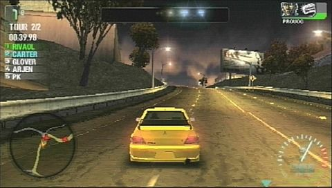 Need for Speed: Carbon Own the City Platinum (PSP)