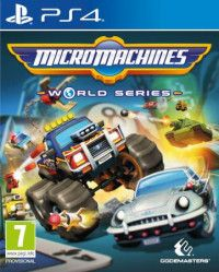 Купить Игру Micro Machines World Series (PS4) на Playstation 4 диск