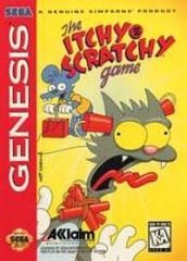 Itchy and Scratchy Game (Sega)