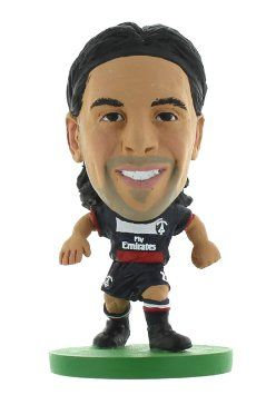 Фигурка футболиста Soccerstarz - Paris St Germain Javier Pastore - Home Kit (400059) Фигурки Soccerstarz