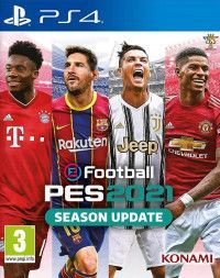 Pro Evolution Soccer 2021 (eFootball PES 2021 Season Update) Русская Версия (PS4)