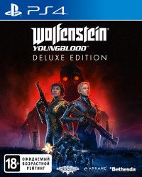 Wolfenstein: Youngblood Deluxe Edition Русская Версия (PS4)
