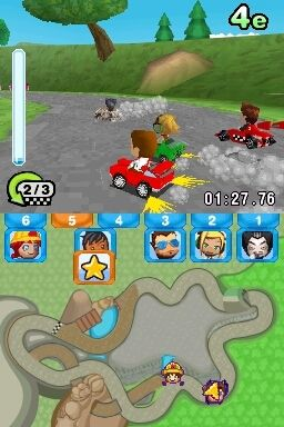 Игра My Sims Racing (DS) для Nintendo DS