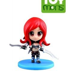 Фигурка Katarina из игры League of Legends 8см (UQ115134) Остальные