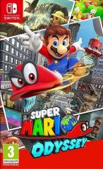 Игра Super Mario Odyssey Русская Версия (Switch) для Nintendo Switch