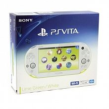 Игровая приставка Sony PlayStation Vita Slim Wi-Fi Green-White PS Vita