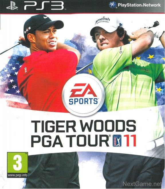 Tiger Woods PGA Tour 11 с поддержкой PlayStation Move (PS3)