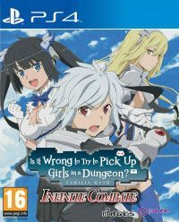 Is It Wrong to Pick Up Girls in a Dungeon? Familia Myth Infinite Combate (PS4)
