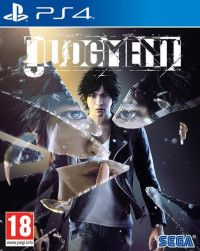 Игра Judgment (PS4) Playstation 4